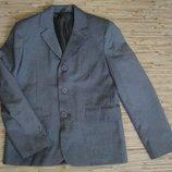 Школьный пиджак, школьная форма для мальчика р.34, рост 140 см