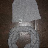 Шапка и шарф 1-3 года