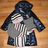 деми комплект от Wojcik 3-7 лет 48-52 см отл.состояние пальто также в продаже