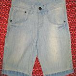 джинсовые шорты р.140см, 9-10 лет тсм - такко германия