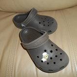Crocs оригинал кроксы детские, р. 27-28 стелька 17,5 см