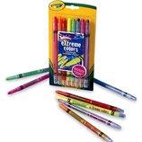 Crayola Выкручивающиеся восковые карандаши Twistables Extreme Color Crayons-8/Pkg