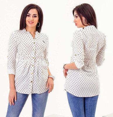15f0a95e1330 Стильная женская рубашка 3202 Хлопок Принт .