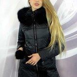 куртка Зима мех - натуральный Размеры 42 44 46,48,50,