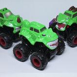 Джип монстр разные модели и цвета Monster Wheels инерционный klx500-236