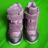 Термо ботинки, сапожки 16'5-17 см.
