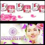 Крымская роза Натуральная линия на основе гидролата розы крем для лица