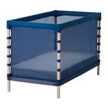Кроватка детская, бук, классический синий, Икеа Flitig, 602.261.38 Ikea В наличии