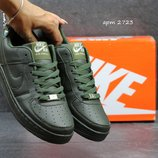 Кроссовки женские Nike Air Force Dark green