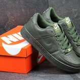 Кроссовки мужские Nike Air Force Dark green