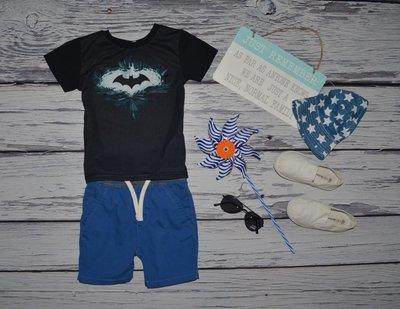 063126b600d7e 1 - 2 года 92 см крутая фирменная футболочка футболка Бэтмен Batman бетмен  Америка