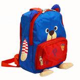 Детский рюкзак мишка для мальчика синий