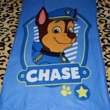 Фирменный плед покрывало на кровать мальчику Щенячий патруль PAW Patrol оригинал