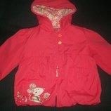 Отличная куртка TU 9-12мес