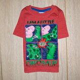 Яркая футболка Miniclub на 1,5-2,0 года