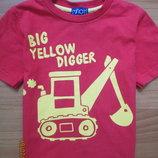 Яркая футболка Minoti на 1,5-2,0 года