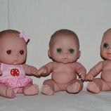 Кукла Bibi Mimi Lulu очаровательные пупсы серия Время играть Berenguer Испания оригинал клеймо 21 см
