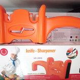 точилка для ножей на два отдела