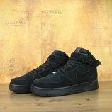 Кроссовки Nike Air Force 1 Suede Black