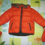 Куртка Marks&Spencer размер 9-12 мес. Рост 76 см.