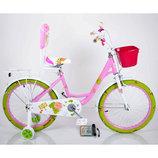 Двухколёсный велосипед Roses на 16, 18, 20 дюймов детский Роус для девочек