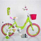 Детский велосипед Роус для девочек двухколёсный Roses на 16, 18, 20 дюймов