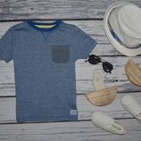4 - 5 лет 104 - 110 см Обалденная фирменная натуральная футболка футболочка
