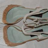 Босоніжки туфлі шкіра Every Body розмір 42 43, туфли босоножки