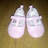 Пинетки туфли мокасины балетки 10,2 см