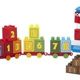 Mega Bloks Конструктор Томас и его друзья поезд с цифрами Builders Thomas&Friends 1-2-3 Count CYM77