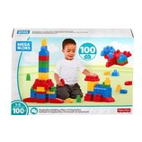 Mega Bloks Конструктор 100 деталей First Builders Imagination Building Set 100 Pieces Classic
