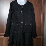 Школьная форма на девочку 9-12 лет пиджак и сарафан