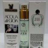 Женский мини-парфюм с феромонами 45 мл Armani Acqua di Gioia