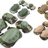 Защита тактическая наколенники, налокотники 4039 4 цвета