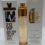 Женский мини-парфюм с феромонами 45 мл Carolina Herrera 212 VIP