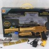 Пистолет с водными геливыми пульками RX6008 аккумулятор игрушечное оружие