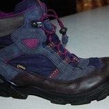 зимние ботинки ecco 35 размер
