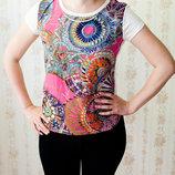 Красивая модная футболка р.44