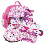 Роликовые коньки Ролики детские раздвижные UFO Baby skate компл 26-37