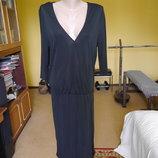 Плаття на S євро розмір чорне легке