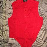 легкая блуза-рубашка р.134-140 тсм - такко германия