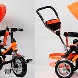Велосипед 3-х колес оранжевый