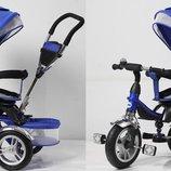 Велосипед 3-х колес синий