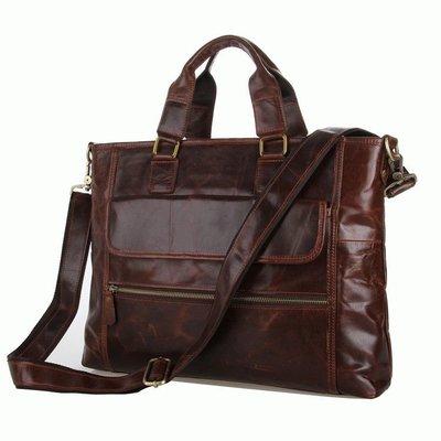 Кожаная сумка для ноутбука Бесплатная доставка кожаный портфель 7212C