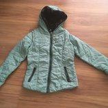 Демисезонная куртка жилетка девочке 8-10 лет