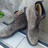 Ботинки броги замшевые р-р. 43-й 28 см