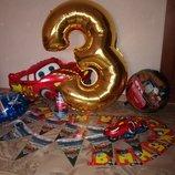 Набор для детского праздника «Тачки»