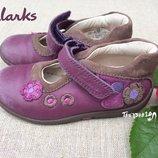 Туфельки Clarks' оригинал, кожа, размер 6 1/2 Е