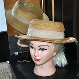 Винтажная соломенная шляпка