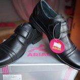Туфли для мальчика, новые, черные, размеры 36,38